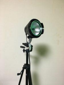 照明と三脚