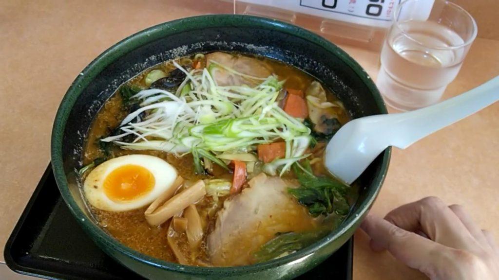 辣野麺(らーさいめん)辛味噌 750円(税込)