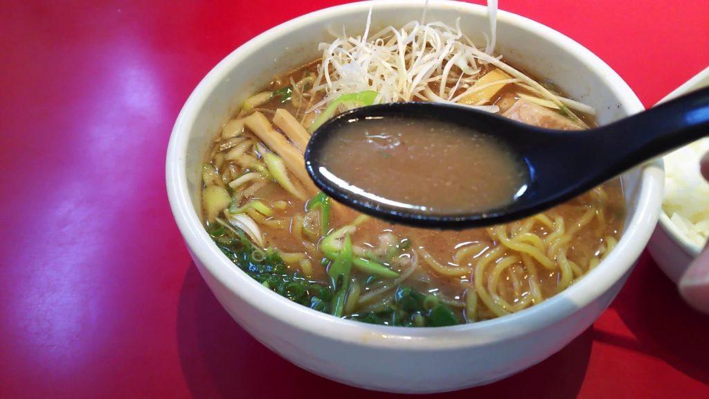 魚介とんこつスープ