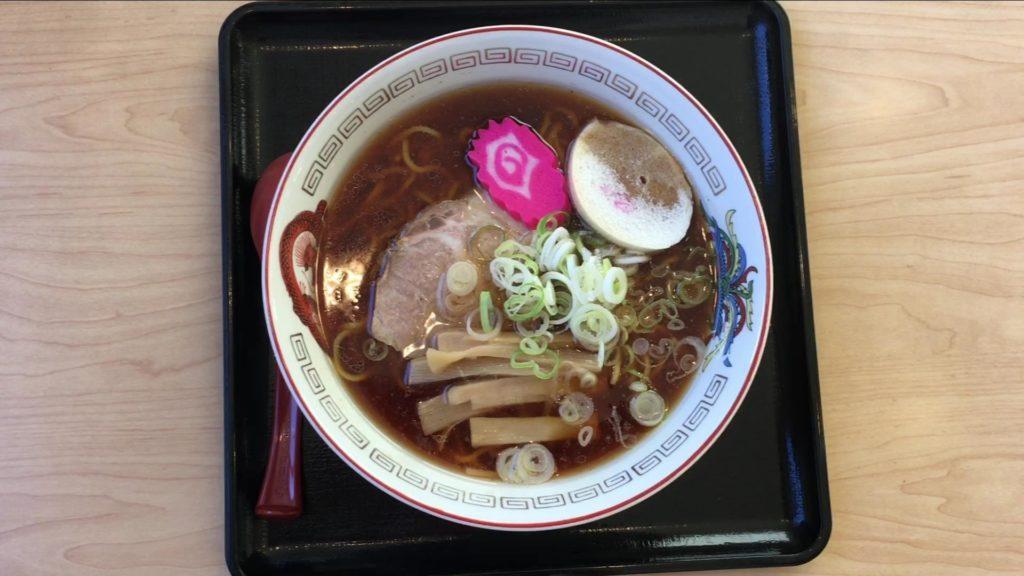 正油ラーメン 800円(税込)